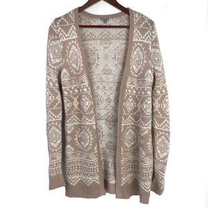 Tan and Black Sweater